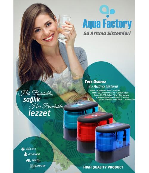 Aqua Factory Evsel Su Arıtma Cihazları